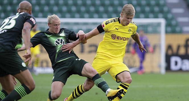Borussia Dortmund, deplasmanda Wolfsburg'u 2-0 mağlup etti