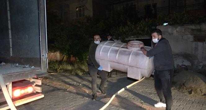Kırıkkale'de sahte içki operasyonu: 3 ton sahte şarap ele geçirildi