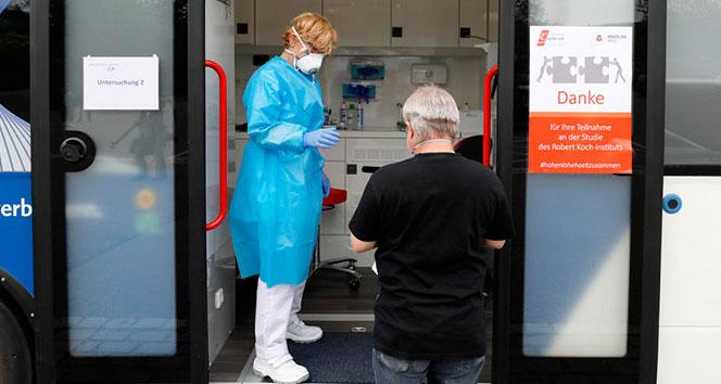 Almanya'da 289 yeni korona virüs vakası tespit edildi