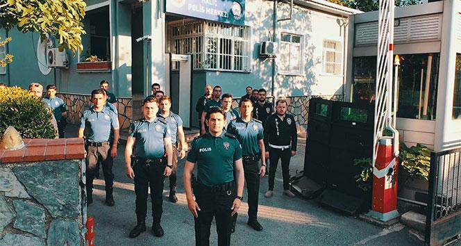 Beyoğlu polisinden 'drone'lu bayram klibi