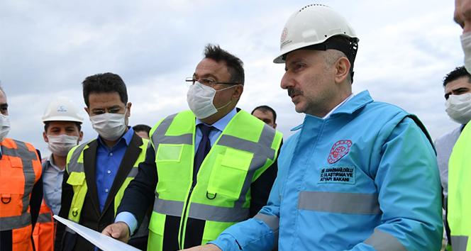 Bakan Karaismailoğlu: 'Ankara-Sivas YHT hattını 2020 yılı içerisinde hizmete almayı planlıyoruz'