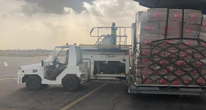 MSB: 'Tıbbi yardım malzemelerini taşıyan uçak Çad'a indi'
