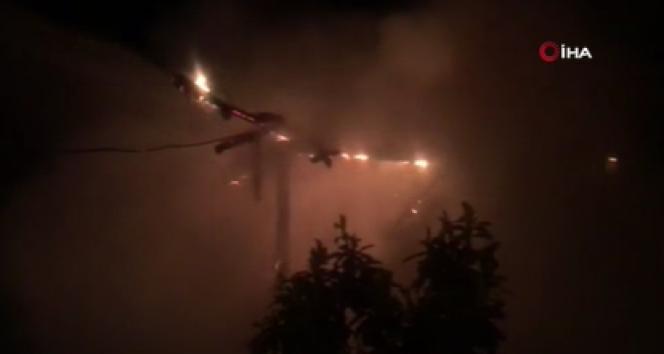 Amasya'da 1 gecede 2 yangın