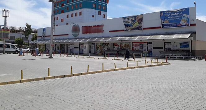 Siirt'te çalışanların bir bölümünün koronavirüs testi pozitif çıkan market kapatıldı