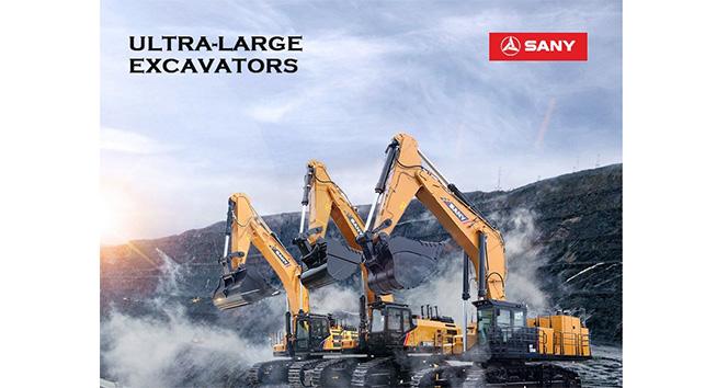 SANY, ultra büyük ekskavatör için ürün portföyünü büyüttü