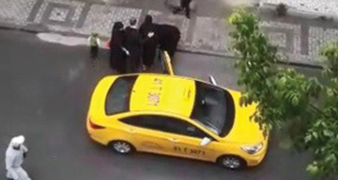 Doğum yapan kadını taksiden atan sürücüye süresiz ev hapsi