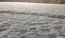 Akşam saatlerinde kar yağışı başladı! Vatandaşlar şaşkınlıklarını gizleyemedi!