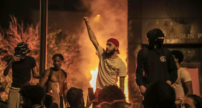 ABDde ırkçılık isyanı şiddetini arttırdı