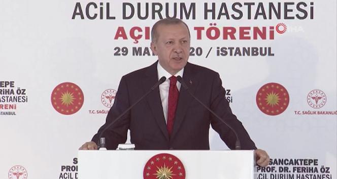 Cumhurbaşkanı Erdoğan: 'Şehir hastanelerinin ne kadar önemli olduğunu bu süreçte çok daha iyi görüyoruz'