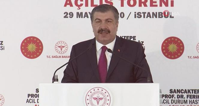Bakan Koca: 'Koronavirüs salgını ile mücadelede Türkiye tüm dünyaya örnek bir başarı sağladı'