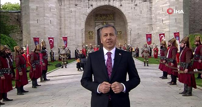 İstanbul Valiliği İstanbul'un fethinin 567. yılını Topkapı Sarayı'nda kutladı
