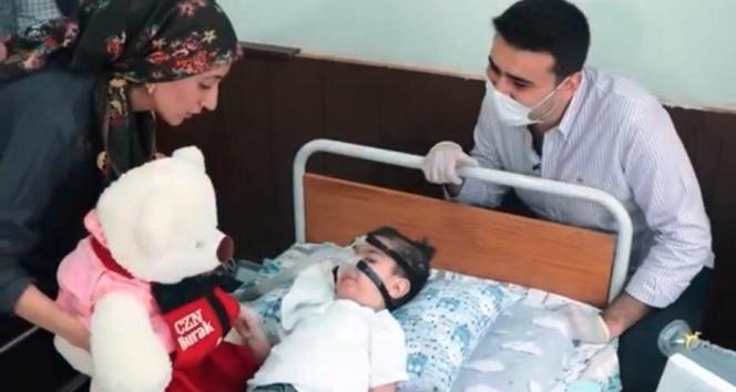 SMA hastası minik umut, CZN Burak'ın duyarlılığıyla artık rahat nefes alacak