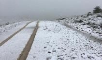 Mayıs ayının sonunda kar sürprizi!