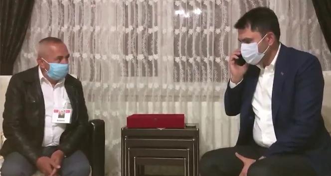 Cumhurbaşkanı Erdoğan'ın görüştüğü şehit babası: 'Vatanımız, milletimiz, devletimiz sağ olsun'