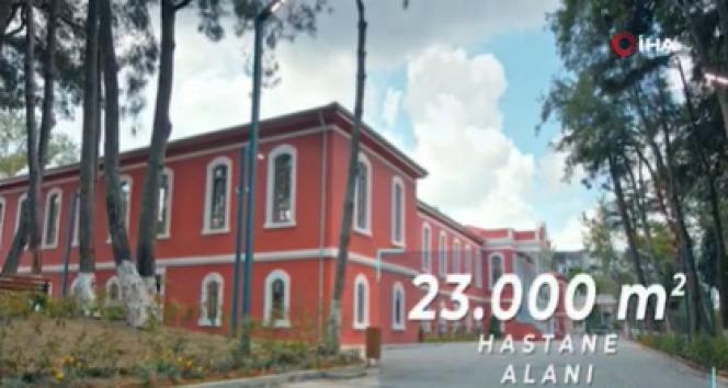 Açılışa hazır Hadımköy Dr. İsmail Niyazi Kurtulmuş Hastanesi için belgesel