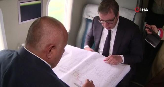 Sırbistan Cumhurbaşkanı Vuçiç ile Bulgaristan Başbakanı Borisov, TürkAkım'ı inceledi