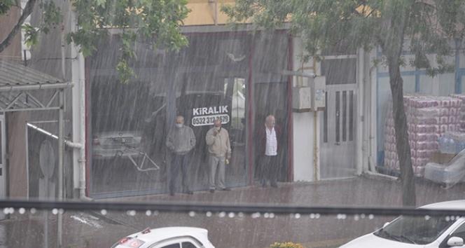 Kuvvetli yağış hazırlıksız yakaladı