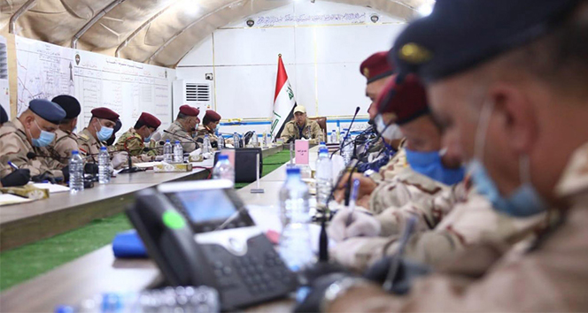 Irak Başbakanı El-Kazimi, DEAŞ operasyonunu Kerkük'ten yürüttü