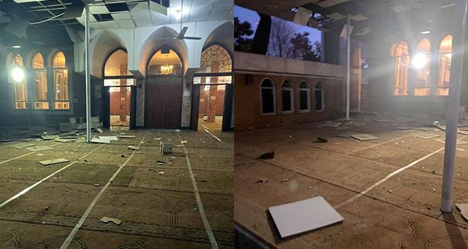 Afganistan'da camide intihar saldırısı