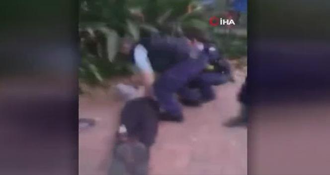 Polis şiddeti bu kez Avustralya'da kameraya yansıdı