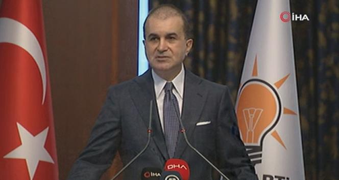 AK Parti Sözcüsü Ömer Çelik, MYK sonrası açıklamalarda bulundu