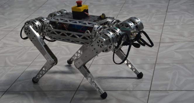 """Uzaya gitmek isteyen ilk Türk robot """"Miniada"""""""