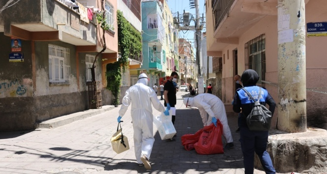 18 kişide korona virüs çıktı, 3 sokak karantinaya alındı