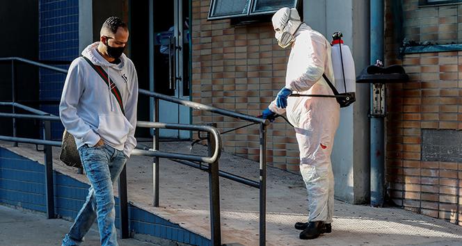 Brezilya'da korona virüs vakaları 1 milyonu aştı