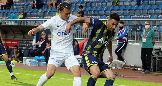 Kasımpaşa, 8 yıl sonra Fenerbahçe'yi mağlup etti