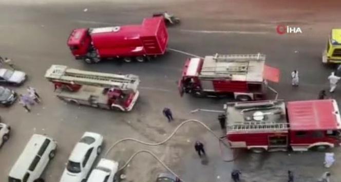 Mısır'da hastanede yangın: 7 ölü
