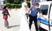 Zorla evlendirilmek istenen kız nikah salonuna polis baskınıyla kurtarıldı