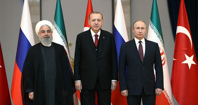 Türkiye, Rusya, İran Üçlü Zirvesi bugün gerçekleştirilecek