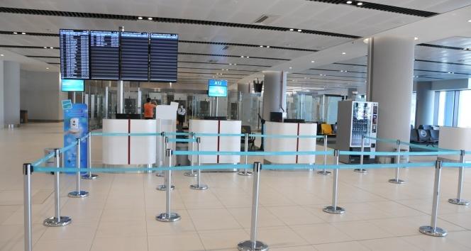 İstanbul Havalimanı'nda korona virüs test merkezi açıldı