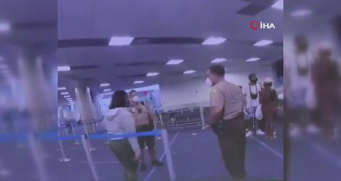 ABD'de polis siyahi kadına yumruk attı