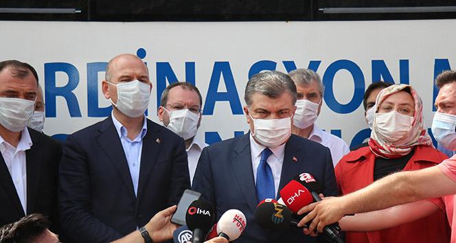 Sağlık Bakanı Fahrettin Koca: '4 ölü, 45 kayıp 97 yaralı var'