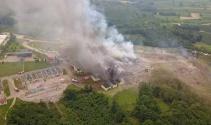 Sakarya'da havai fişek fabrikasında patlama