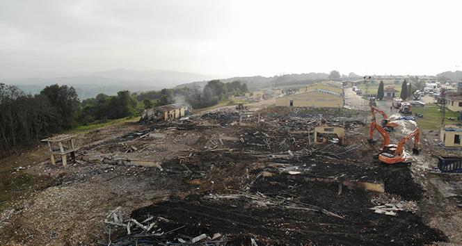 Sakarya'da Havai Fişek Fabrikası'nda meydana gelen patlamasıyla ilgili soruşturma başlatıldı