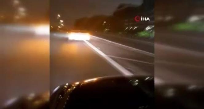ABD'de göstericilere çarpan sürücünün kaçtığı anlar ortaya çıktı