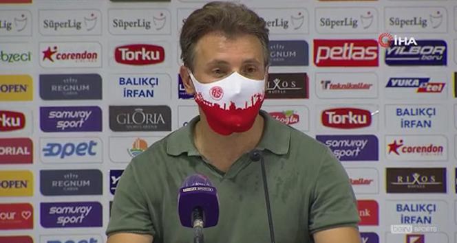 Tuna: '11 maç sonra kaybetmek kötü'