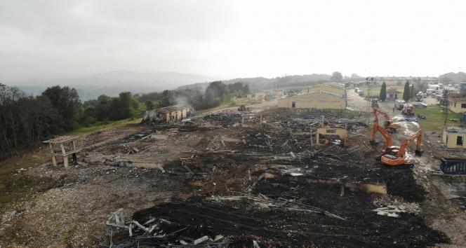 Havai fişek fabrikasındaki patlama ile ilgili gözaltı sayısı 4'e yükseldi