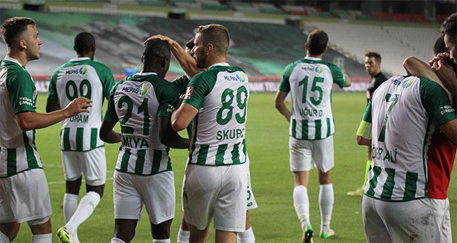 Konyaspor 90+5'te güldü