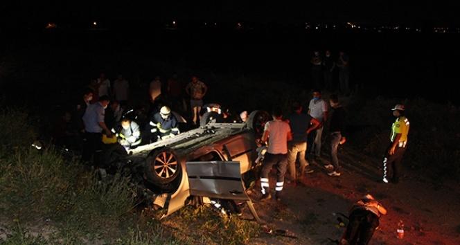 Kız istemeden dönen aile kaza yaptı: 1 ölü, 5 yaralı