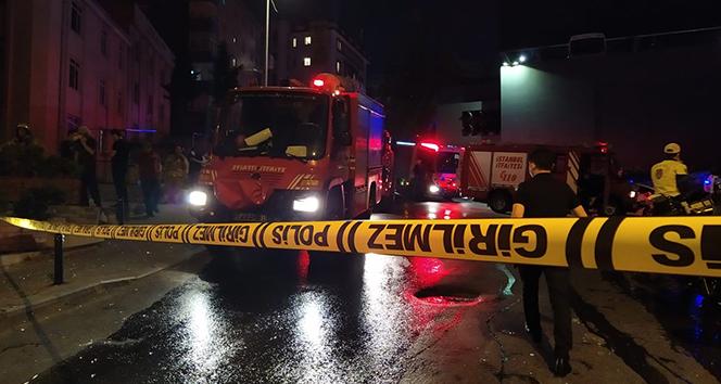 Şişli'de televizyon tamircisinde patlama: 1 yaralı