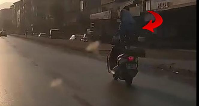 Seyir halindeki motosiklet üzerinde ölümcül şova polisten ceza