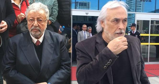 Metin Akpınar ve Müjdat Gezen'e 'Cumhurbaşkanına hakaret'ten dava