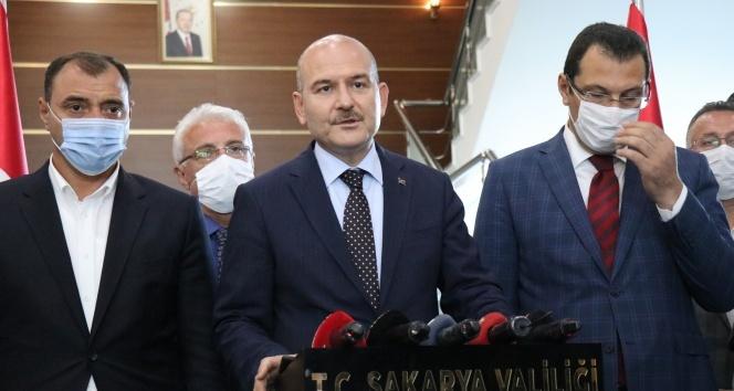 Bakan Soylu: 'Buranın imar izni ve çalışma izni iptal edilecek'