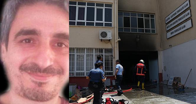 Okuldaki patlamada yaralanan öğretmen hayatını kaybetti