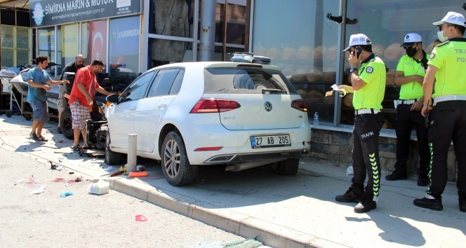 İzmir'de trafik kazası: 1 ölü!