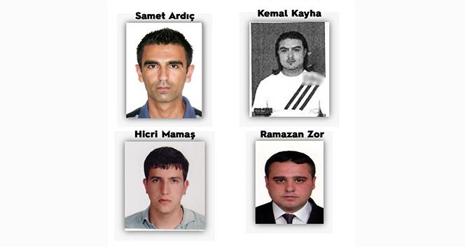 Kırmızı Bültenle aranan 4 şahsın ülkemize iadesi gerçekleştirildi