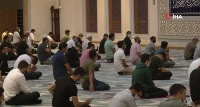 Ayasofya Camii'nin sevinci Çamlıca Camii'ne kadar taştı